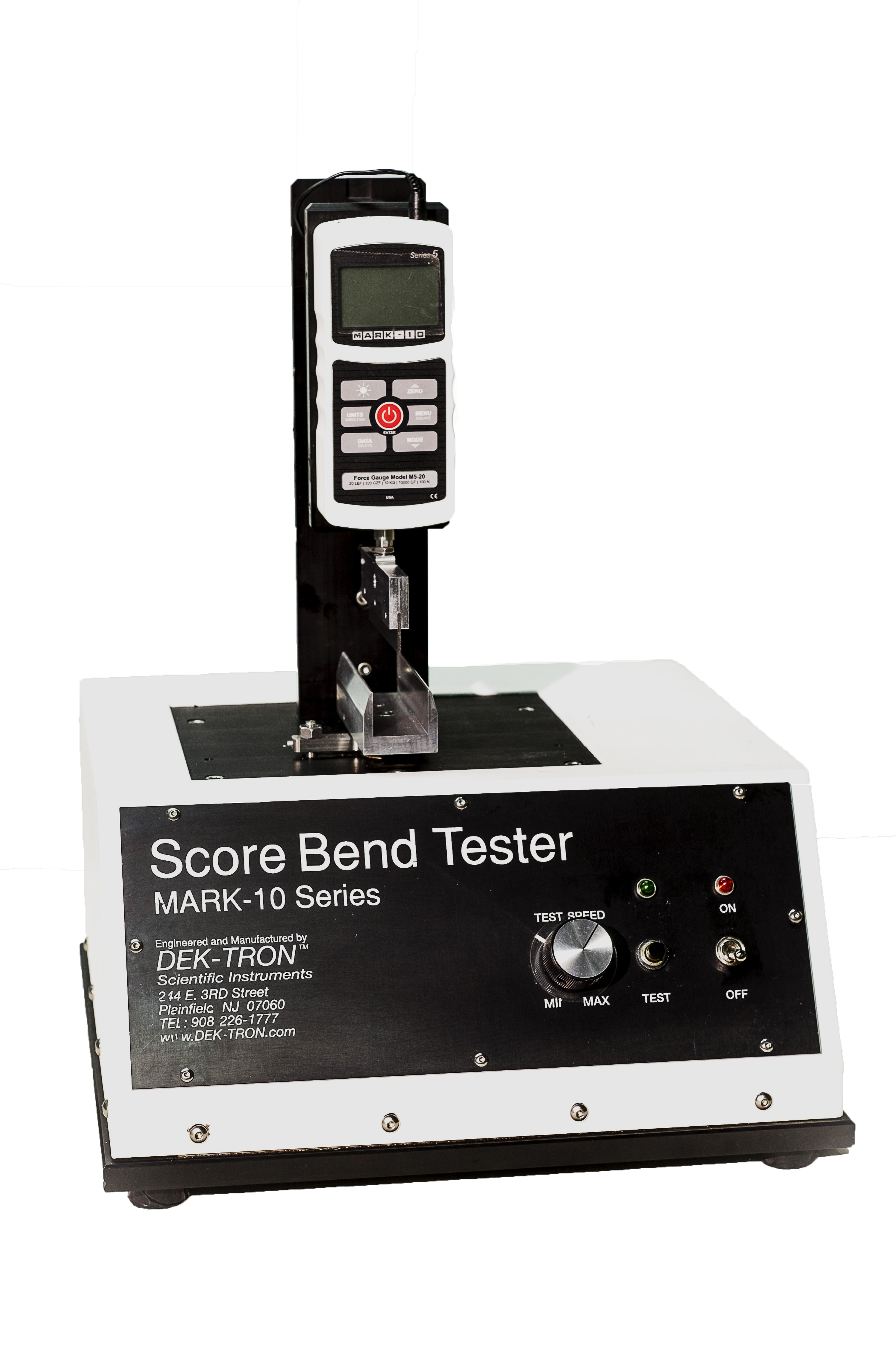 Score Bend Quality Tester